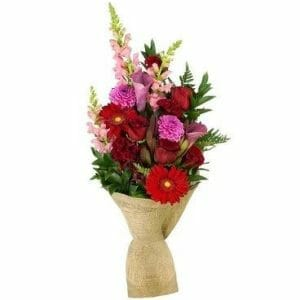 Wrapped Flower Bouquet